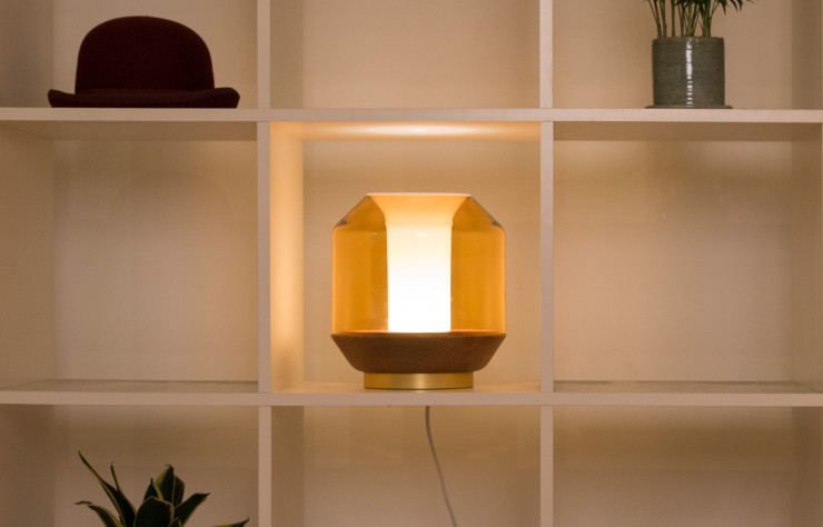 Lampe « Lateralis », design Ben McCarthy pour Innermost.