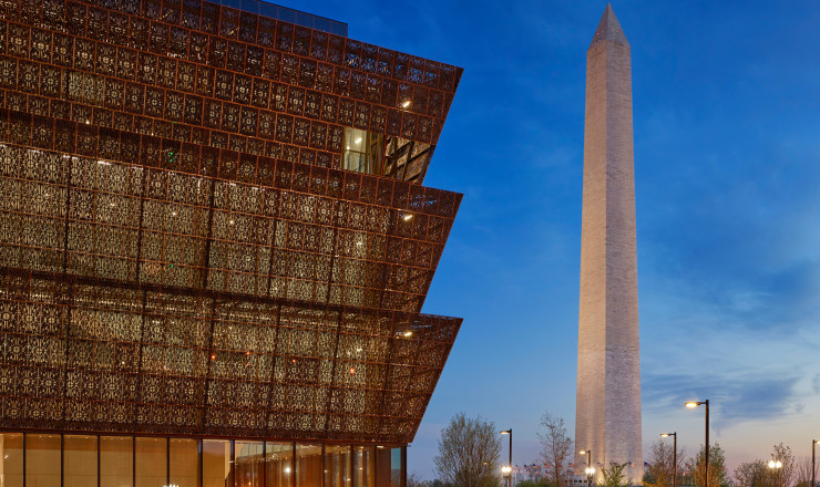 Le National Museum of African American History & Culture signé David Adjaye à Washington.