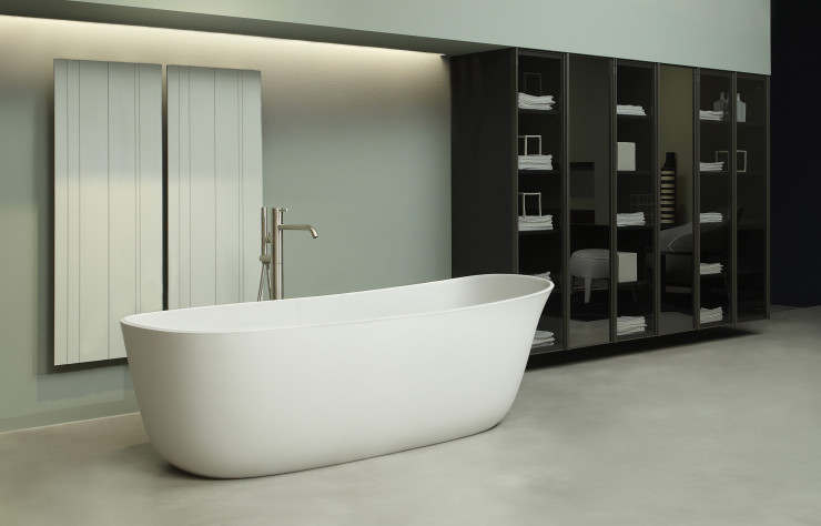 Elements de salle de bains, collection « Bespoke », Antonio Lupi.