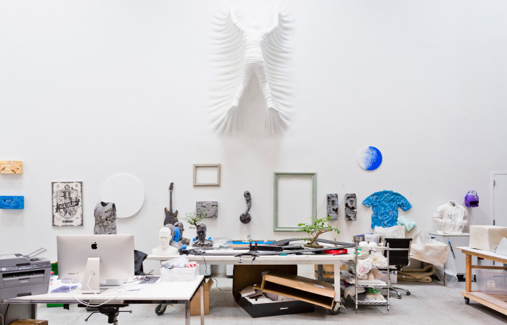 Atelier de Daniel Arsham, Queens, New York