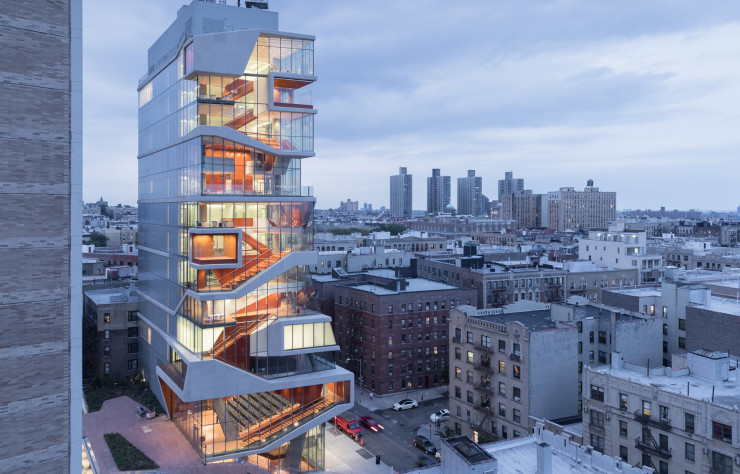 Le « Roy and Diana Vagelos Education Center » de Diller Scofidio + Renfro.