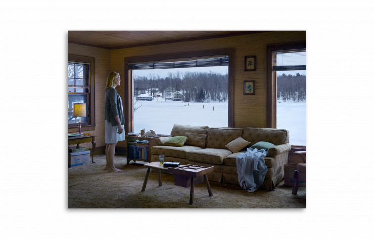 « The Disturbance », 2014, de Gregory Crewdson. Impression pigmentaire numérique. 114,5 x 146,2 cm (encadré). Collection privée, Paris.