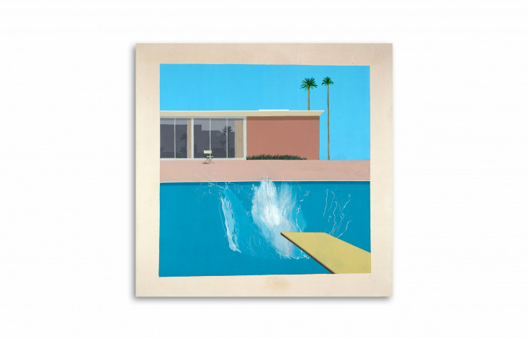 « A Bigger Splash », 1967, de David Hockney. Tate London.