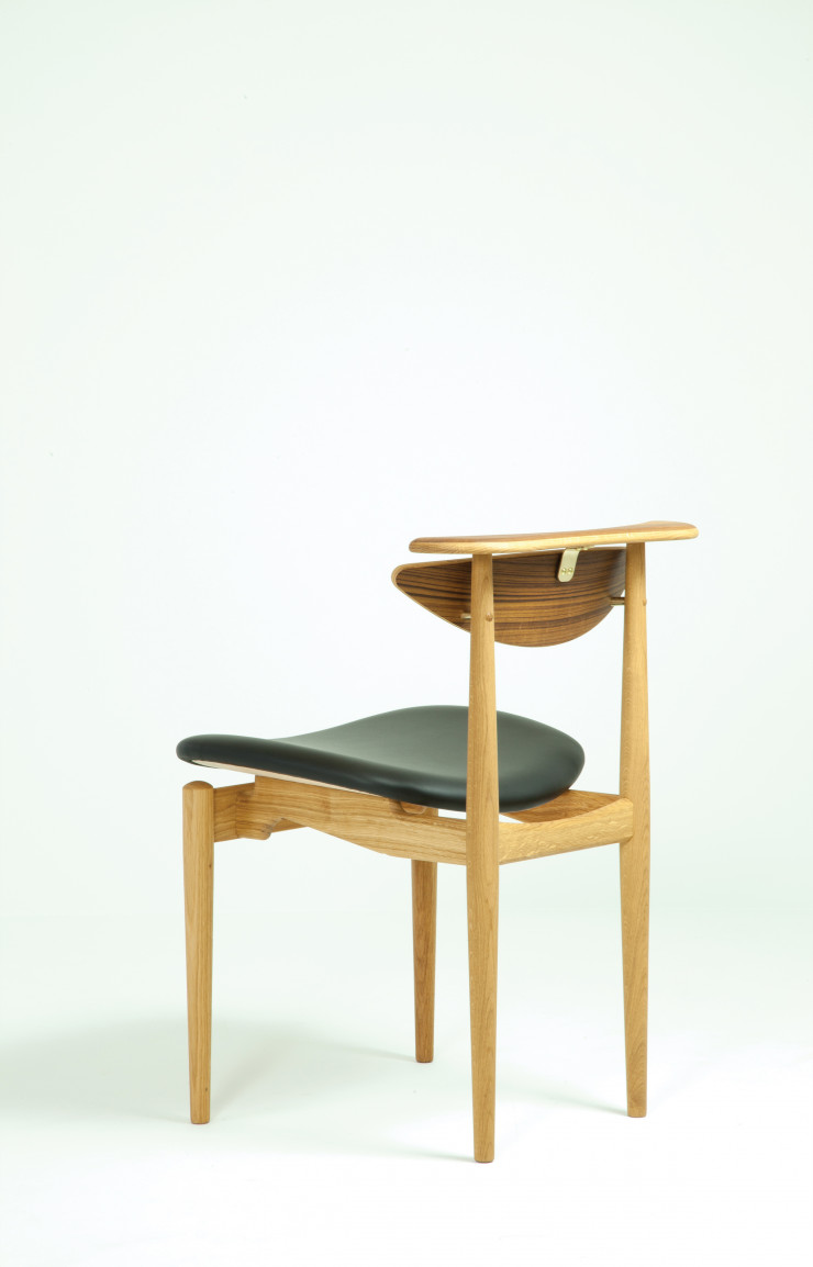 La Reading Chair de Finn Juhl passe de 836 à 625 € chez Triode.
