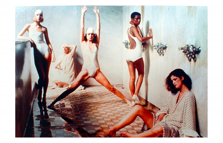 Bath house, New York, Vogue (1975) – Staley-Wise Gallery.