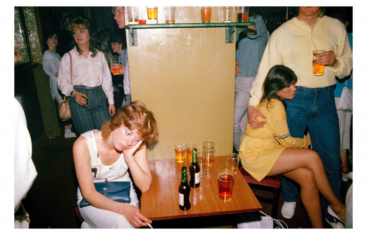 « Tired drink » (1986), exposé par la galerie Sit Down.
