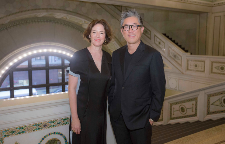 Sharon Johnston et Mark Lee, curateurs de la biennale de Chicago 2017.