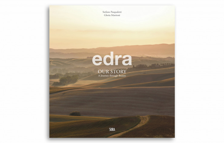 Edra – Our Story – A Journey through Beauty, de Stefano Pasqualetti et Gloria Mattioni, Skira, 190 pages, 58,50 €.
