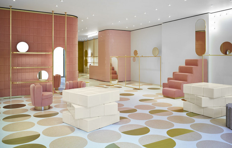 Lauréat du Single-brand Store of the Year, le Red Valentino Sloan Street d'India Mahdavi.