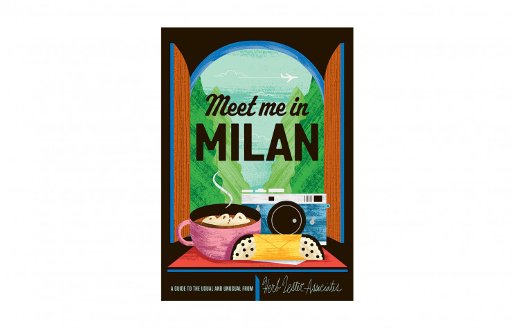 « Meet Me in Milan », de Freedom Art Inc., Herb Lester Associates, 4 €.