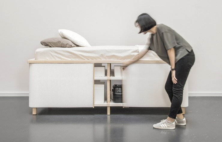 « Tiny Home Bed » de Yesul Yang.