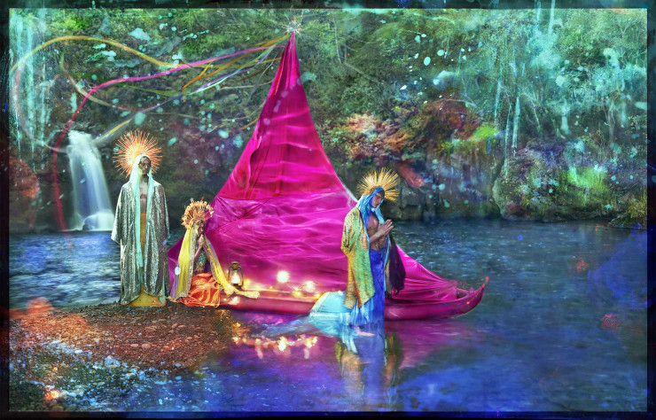 A New World (2017) de David LaChapelle.