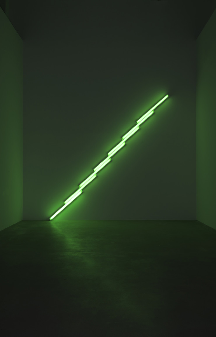 Dan Flavin, « Untitled », 1975.
