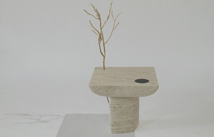 Table « Shifting Times » de Sibylle Tarazi.