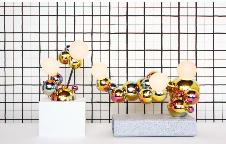 Lampes de la collection « Bubbly ».