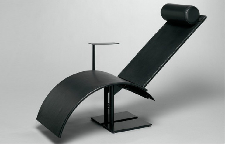 Chaise longue « Pi » de Martin Szekely (1982-1983).