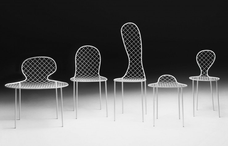 Collection « Family Chairs », Junya Ishigami.