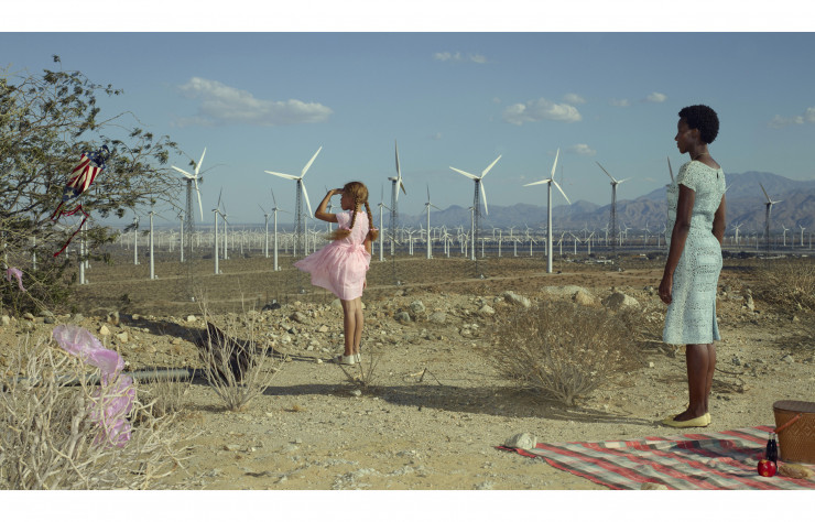 The Kite (2018) d'Erwin Olaf, tiré de la série « Palm Springs ».