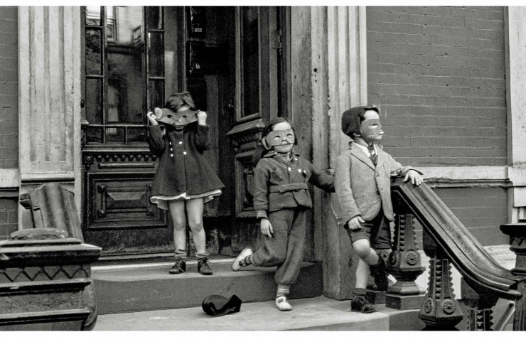 Helen Levitt, « New York », 1940.