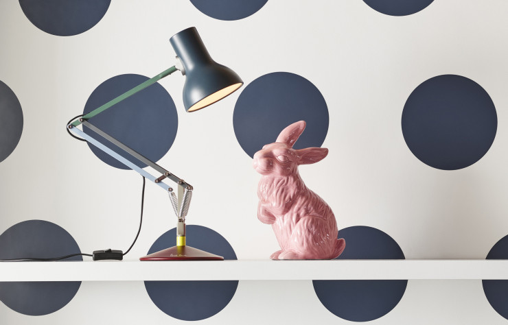 Lampe « Type 75 », édition Paul Smith x Anglepoise.