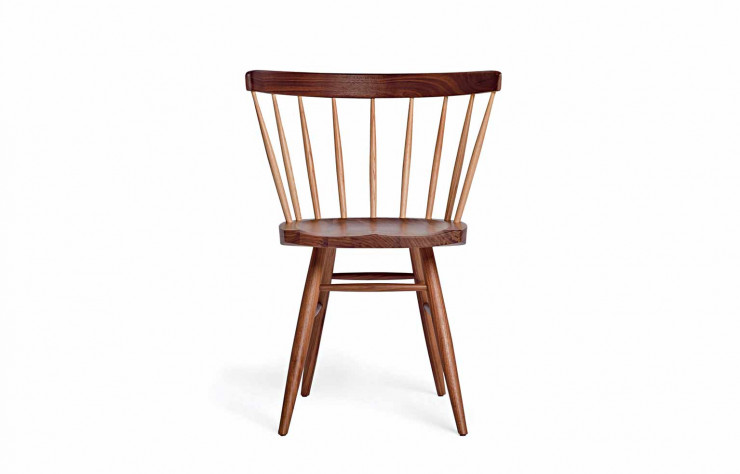 La Straight Chair de George Nakashima (1968).