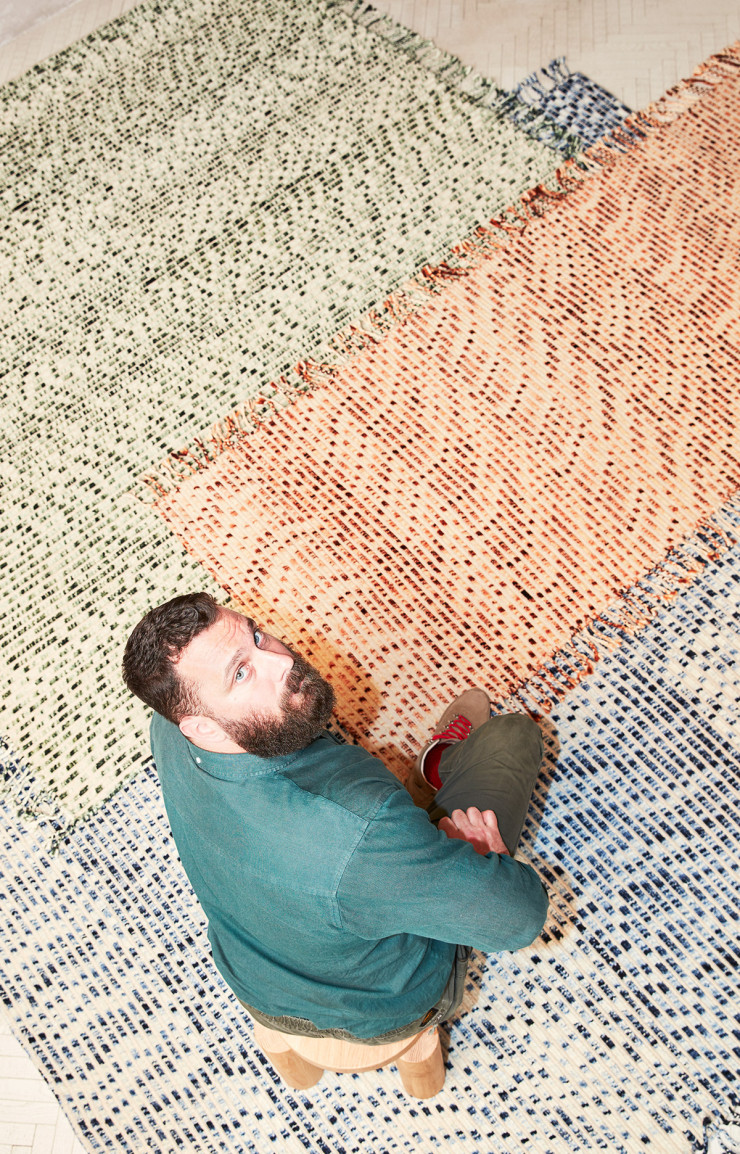Collection « Lines » de Philippe Malouin (cc-tapis, 2020).